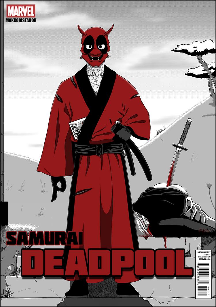 Samurai Deadpool by The-Hige