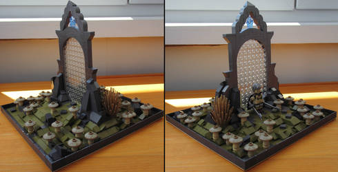 LEGO: Spellforce portal (angled views)