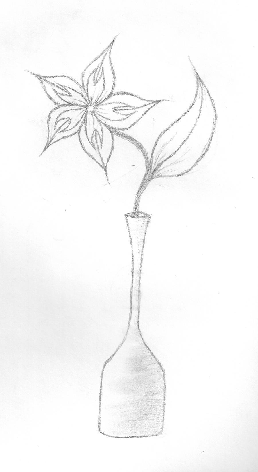 flower in a vase by meggypie643 on deviantart. Black Bedroom Furniture Sets. Home Design Ideas