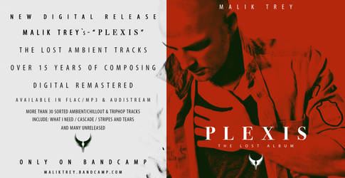 Malik Trey - Plexis (2015) Lost Album Cover