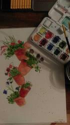 Flower pots by jdjsty