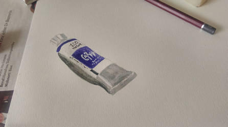 gouache tube by jdjsty