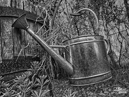 Old Watering Can by VoodooHammer