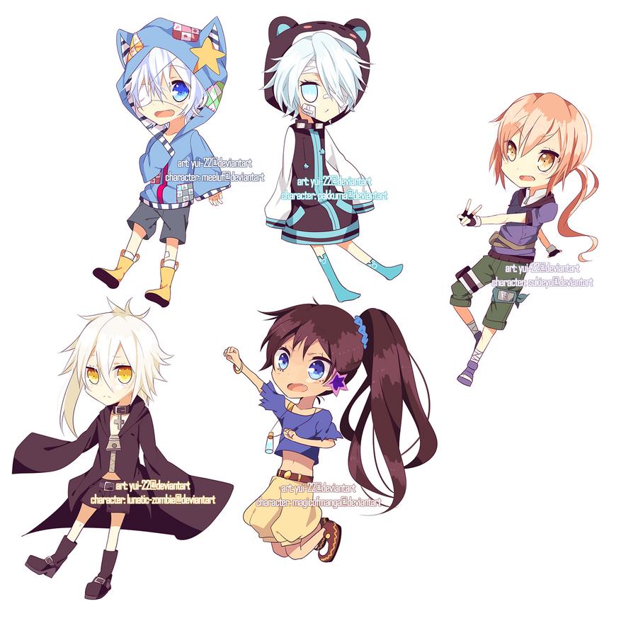 9 Anime Batch Download: Chibi Style 02 Batch 01 By Yui-22 On DeviantART