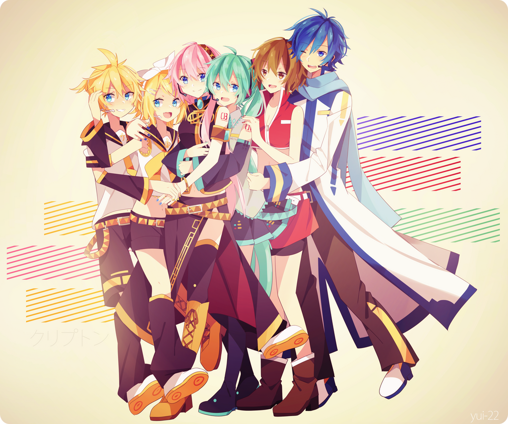 Crypton future media vocaloid 2 characters