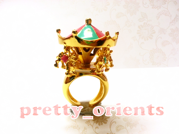 Carousel Merry Go Round Ring By