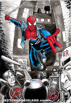 From the sketchbook:Spider-Punk