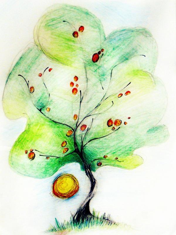 Tree Doodle! by NeverloseNami