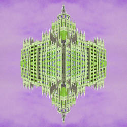 Purple Building Swag