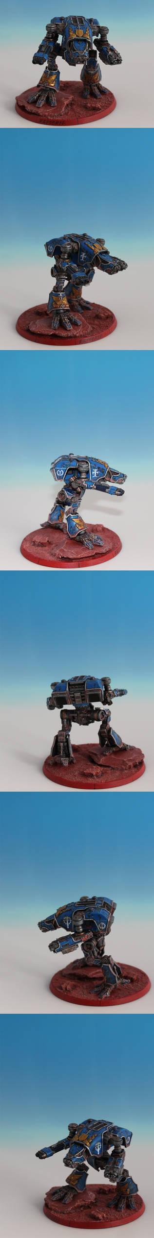 Warhound Scout Titan Raptoria