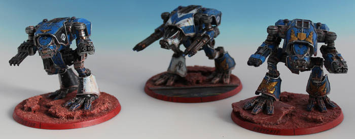 Warhound Scout Titan Hunting Pack