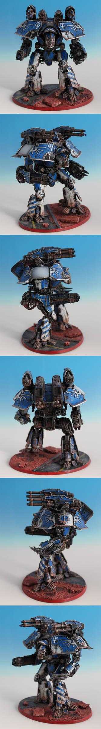 Warlord Battle Titan Deus Tempestus