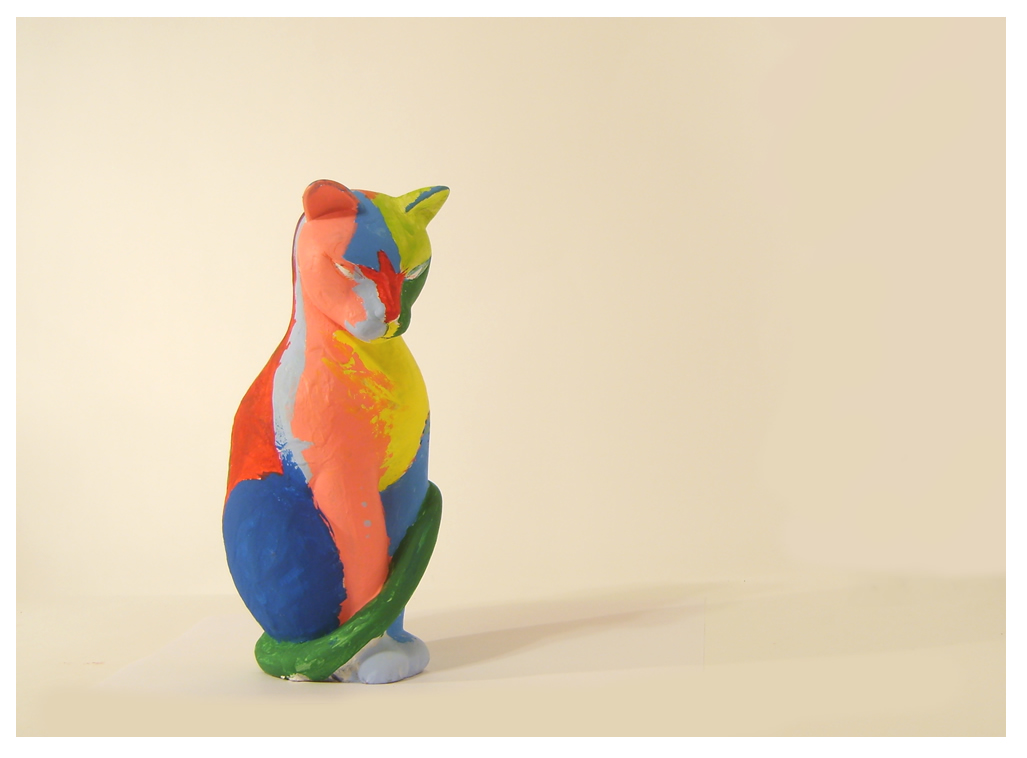 Rainbow Cat by PoultryChamp