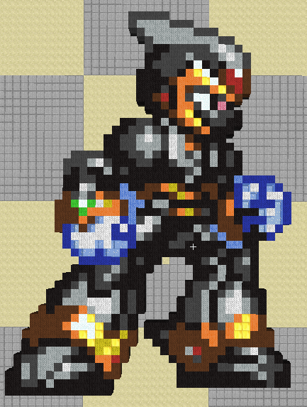 Megaman X Shadow Armor Minecraft Art By Chibiyuji On Deviantart