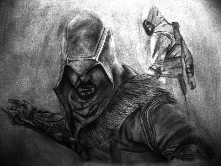 Ezio n' Altair by Finihous