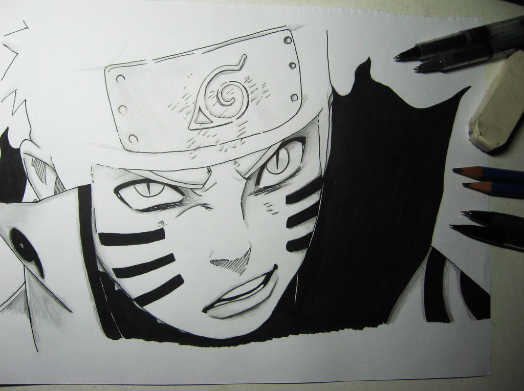 Naruto Uzumaki by Finihous