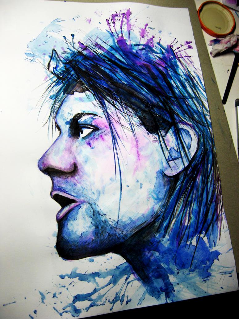 Kurt Cobain by Finihous