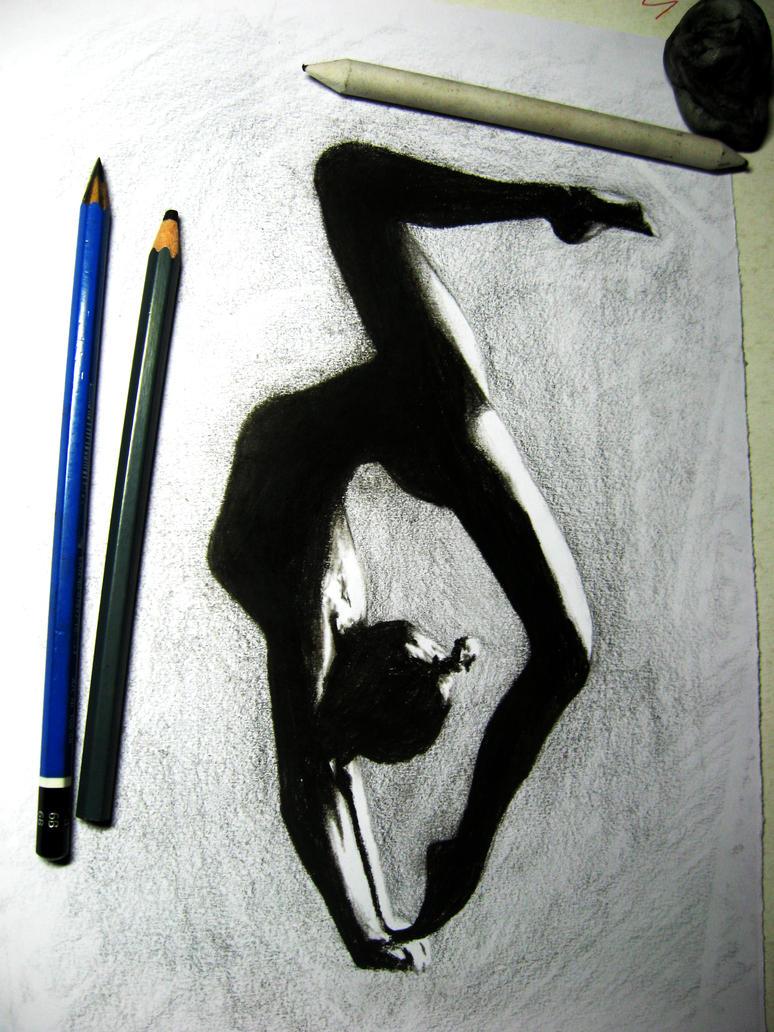 Gymnast Beauty by Finihous