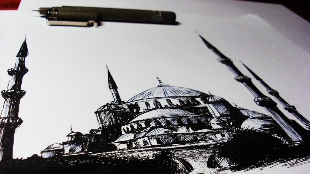 Hagia Sophia by Finihous
