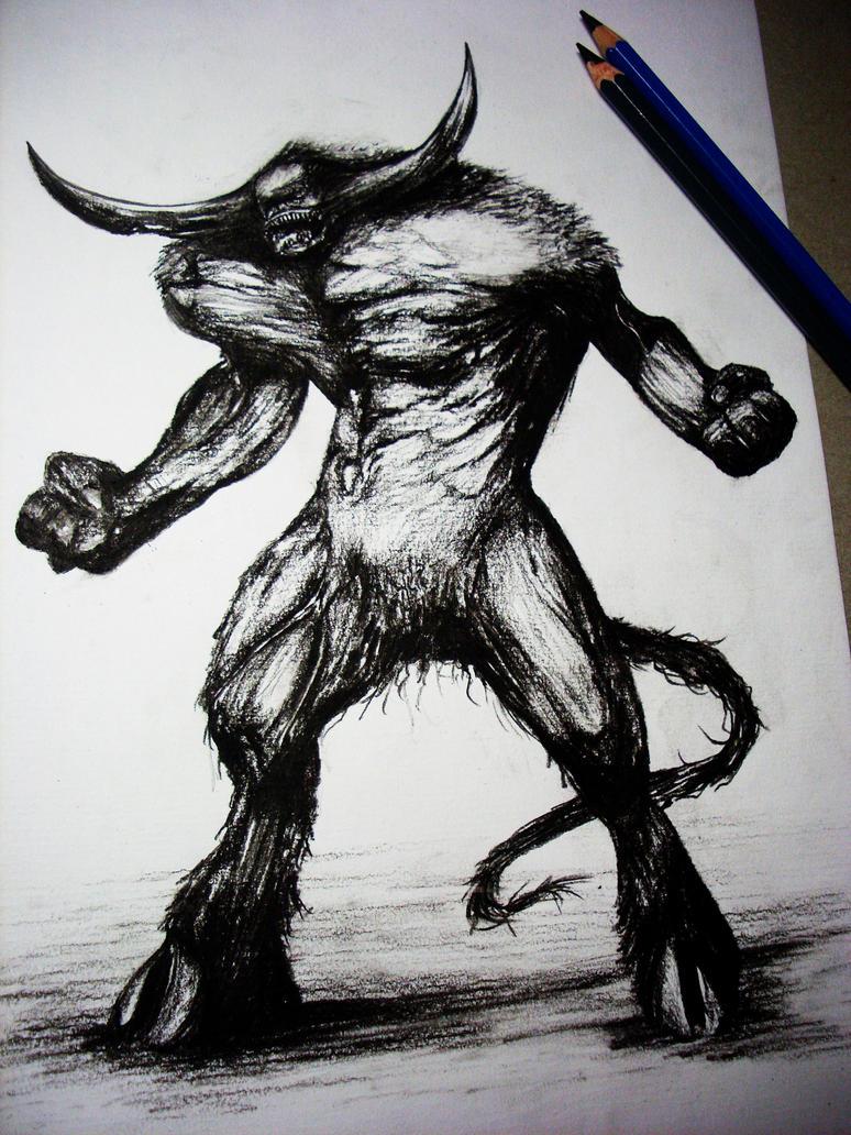 Minotaur by Finihous