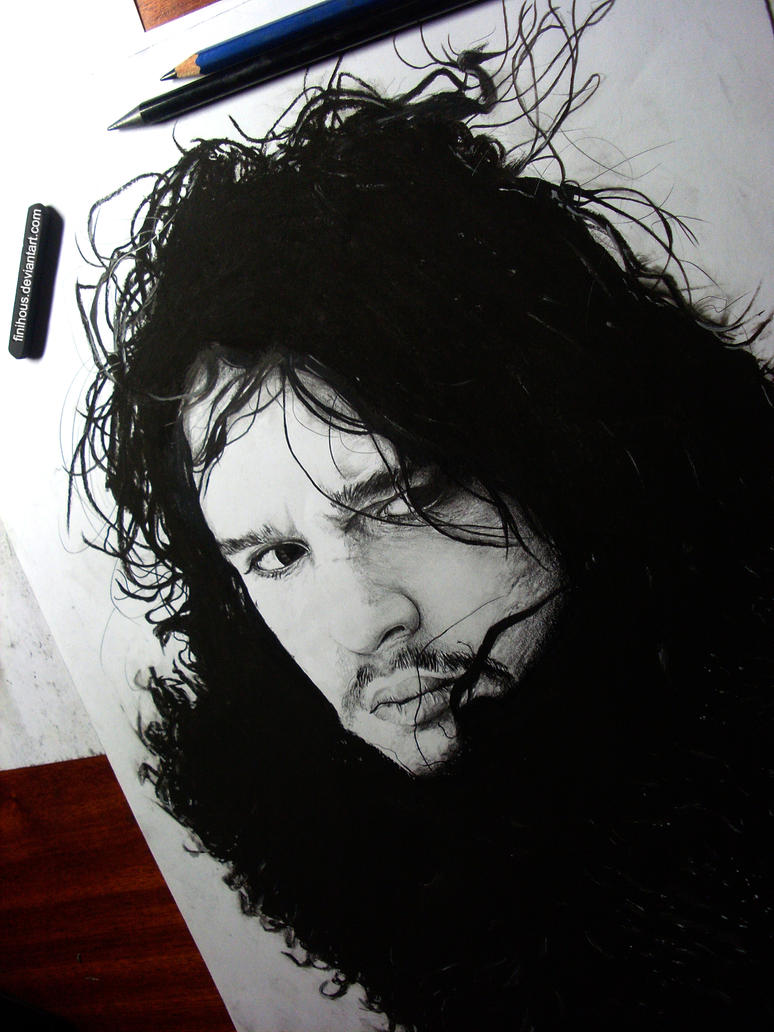 Jon Snow by Finihous
