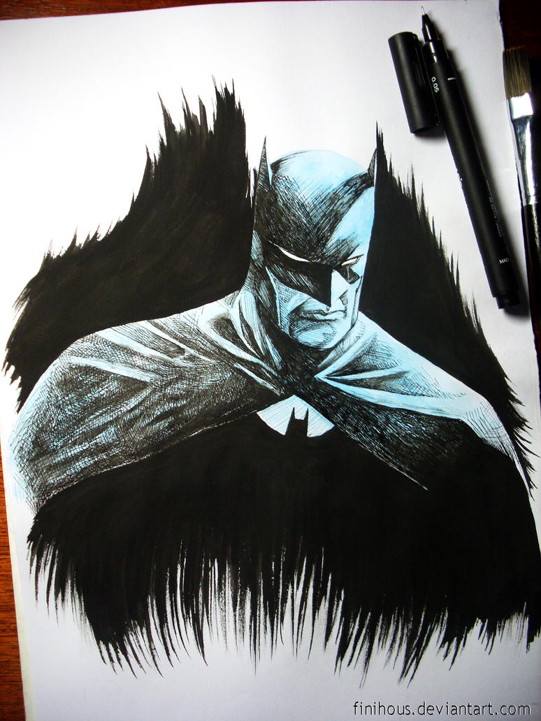 Batman by Finihous