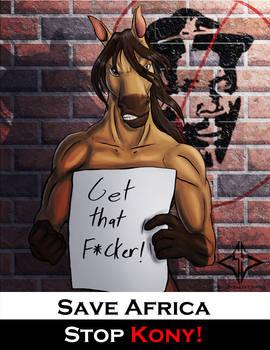 Warhorse Anti Kony Poster