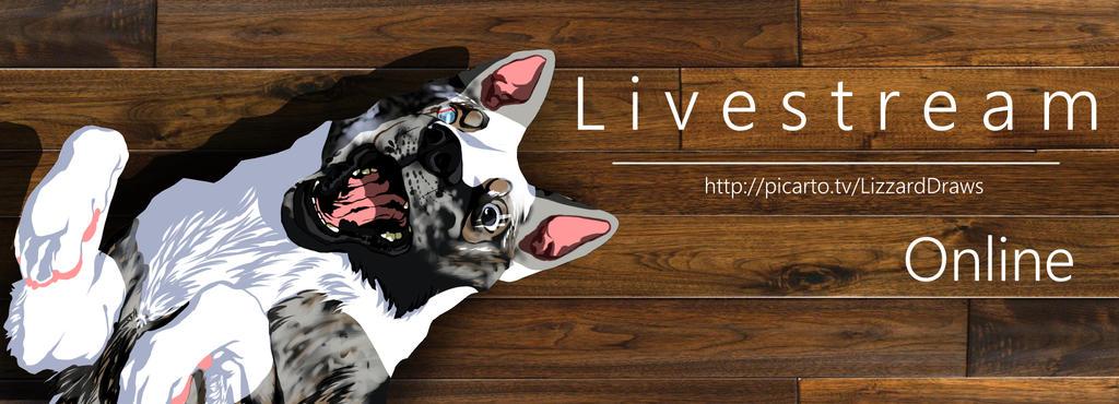 L I V E S T R E A M   Online by LizzardDraws