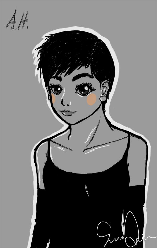 Burning hot cheeks by MissOne