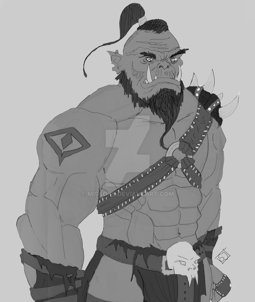 Orc by MissOne