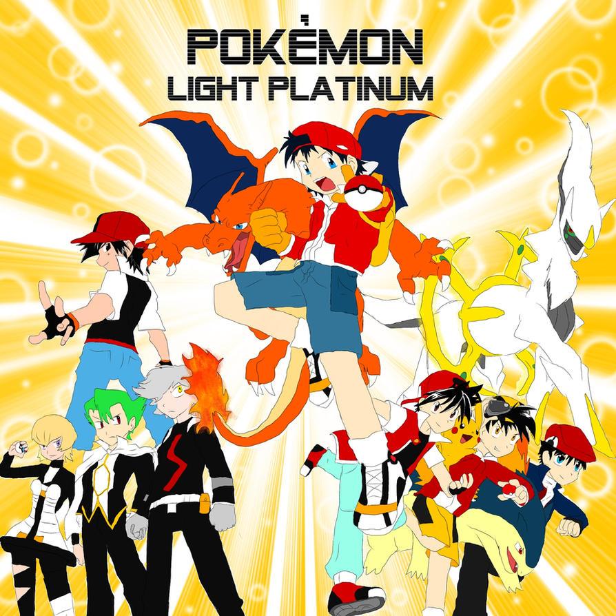 Pokemon Light Platinum Pokespe Style By Fireredragon On Deviantart
