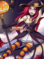 Bewitching Janna by jellophish