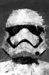 Storm Trooper The force Awakens Star wars by boombazooka