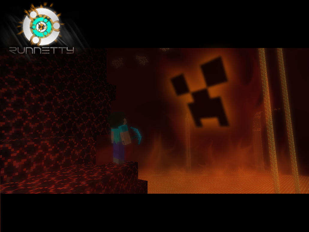 Minecraft The Hell Creeper by Runnetty