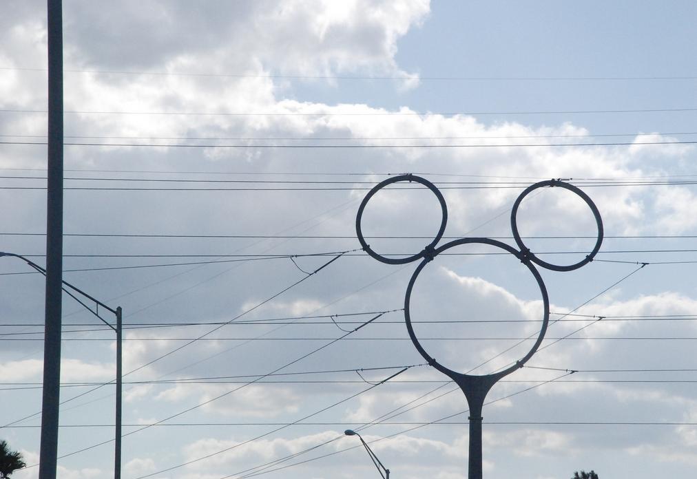 Mickey Maus Strommast