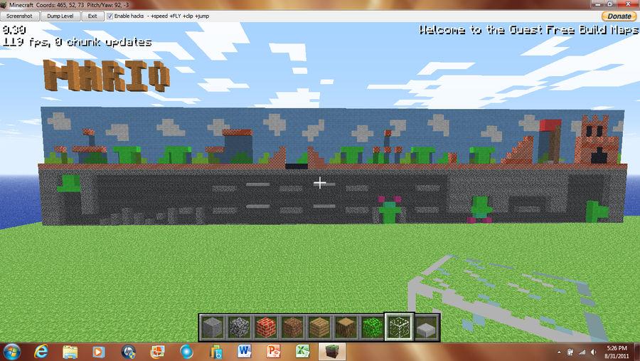 Minecraft Mario Levels by irHAXOR on DeviantArt