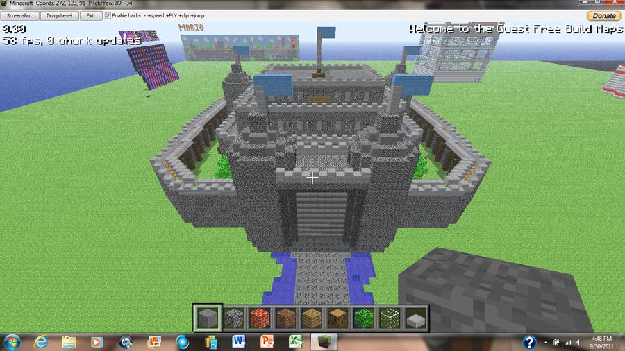 irHAXOR's Minecraft Castle 1 by irHAXOR