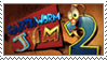 Earthworm Jim 2 stamp by TialasBetruger