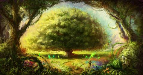 Tree of Life by lordeeas