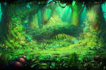 Forest by lordeeas