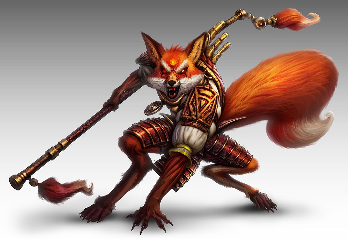 Fighter Fox by lordeeas