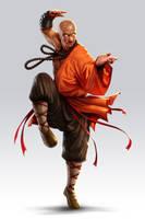 Kong-fu master by lordeeas