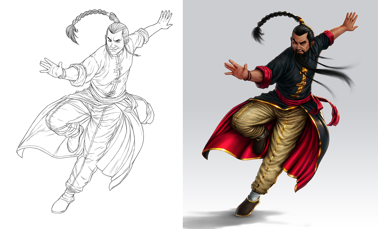 Kung-fu Fighter by lordeeas