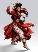 Kung fu Girl by lordeeas