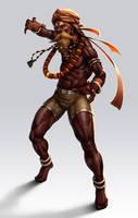 Indian Wrestler by lordeeas