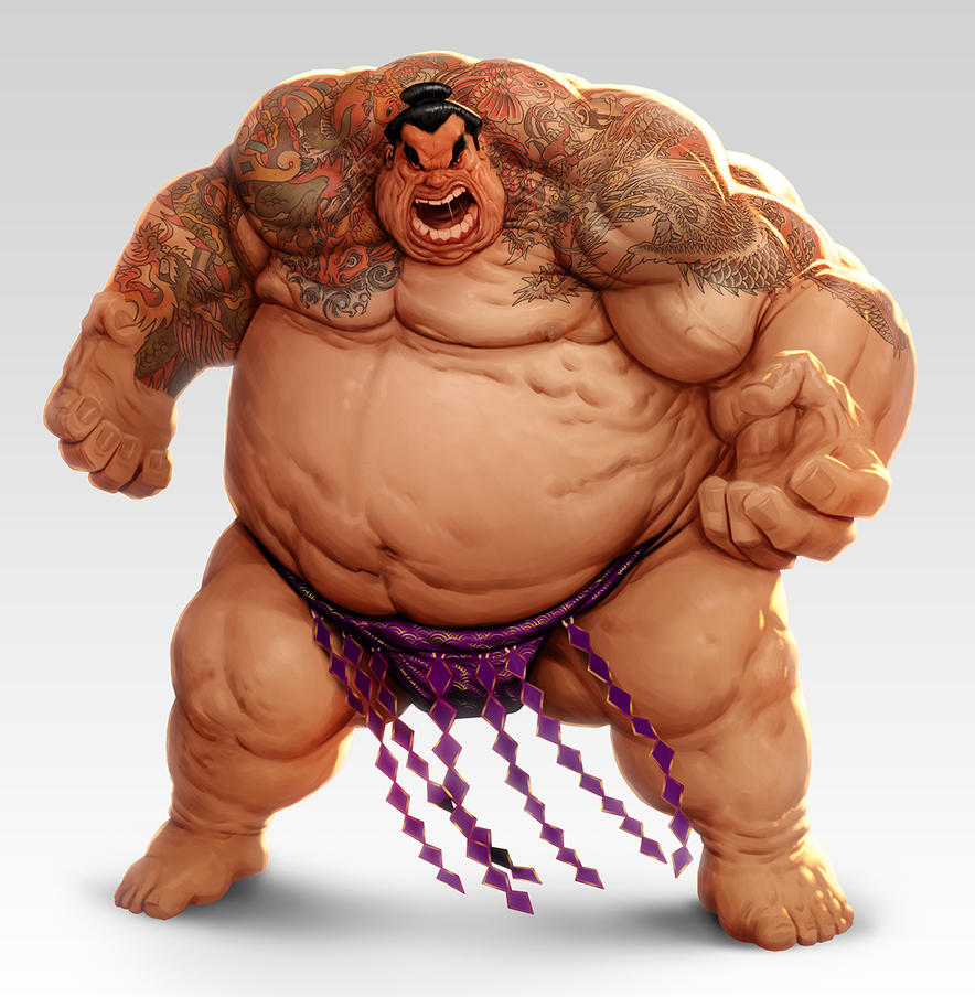 Sumo Wrestler By Lordeeas On Deviantart