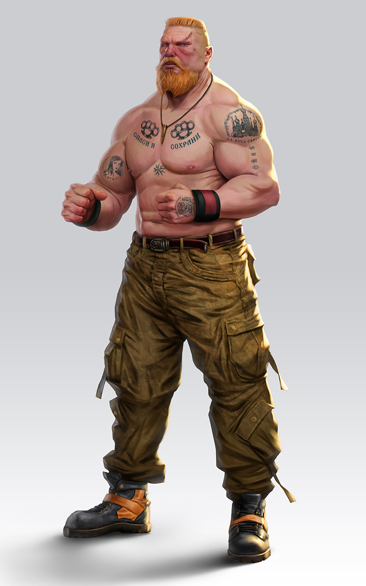 Street Wrestler by lordeeas