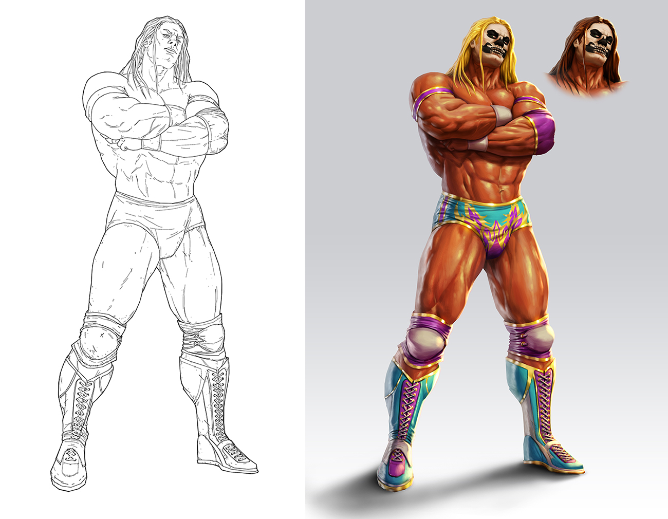 Wrestler by lordeeas