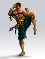 Muay thai Fighter by lordeeas
