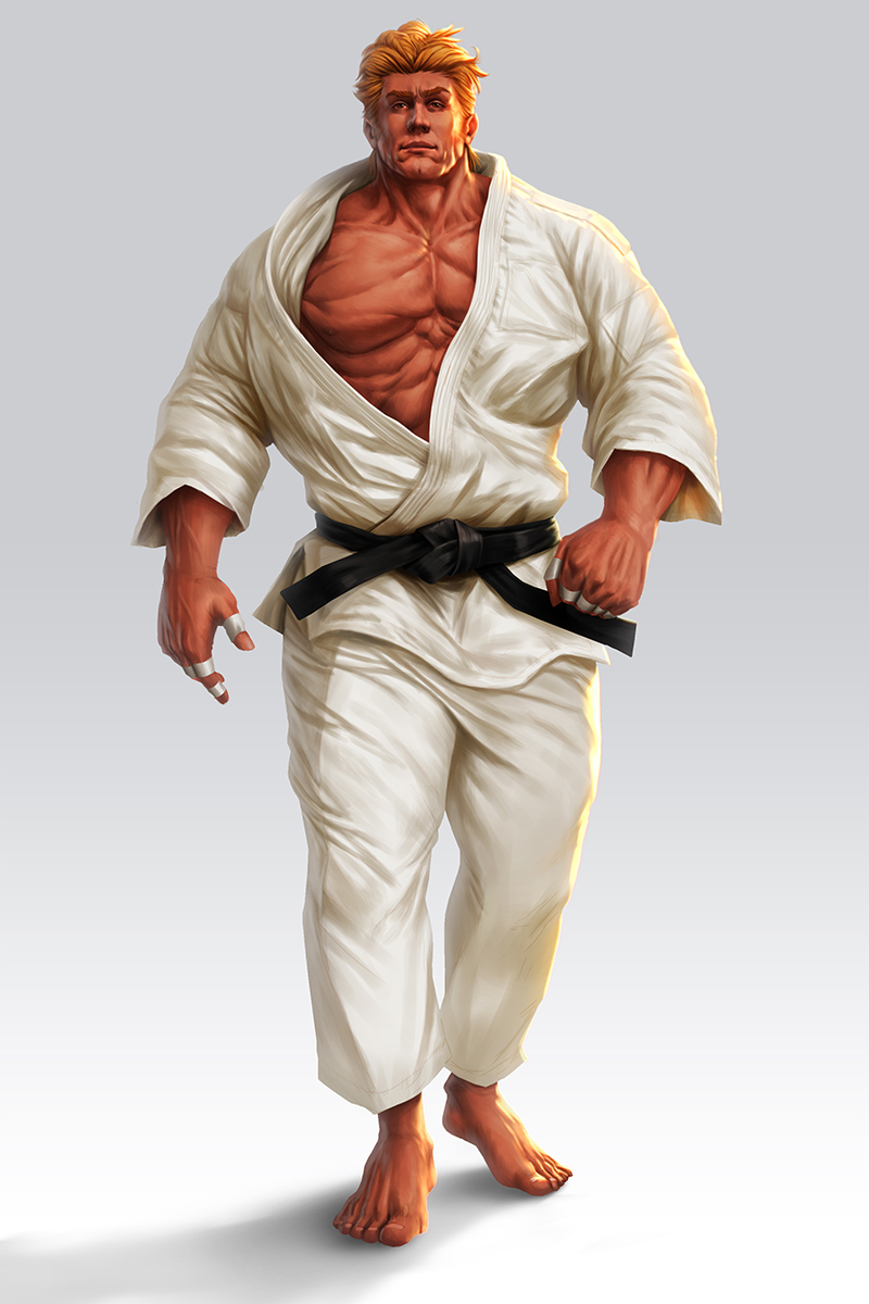 Judo Fighter by lordeeas